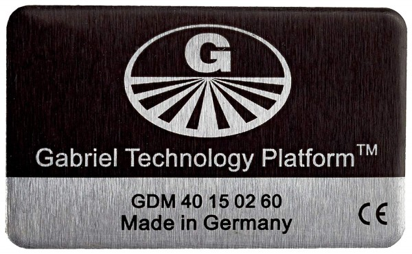 Gabriel Chip Smartphone | integrierter Akku | schwarz | Schutz vor Handystrahlung