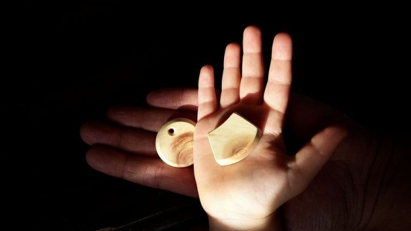 Trinity Amulett mit Vita Chip Set
