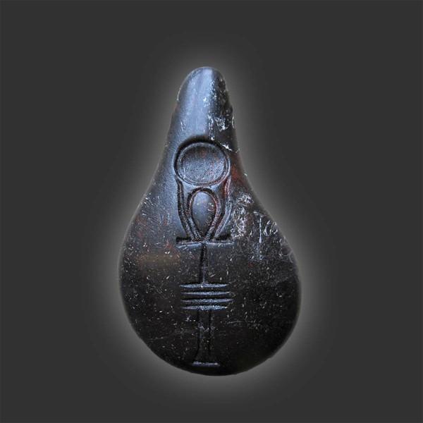 Stein der Harmonie | Quantenstein Onyxschwarz