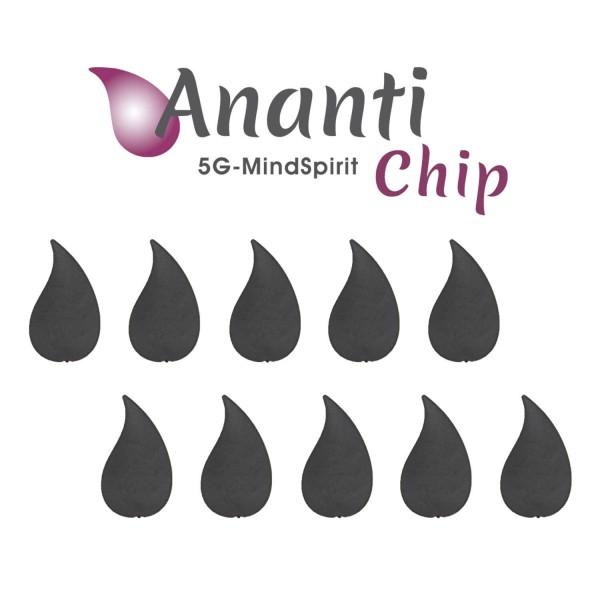 Ananti-Chip 5G Mindspirit - 10er Set
